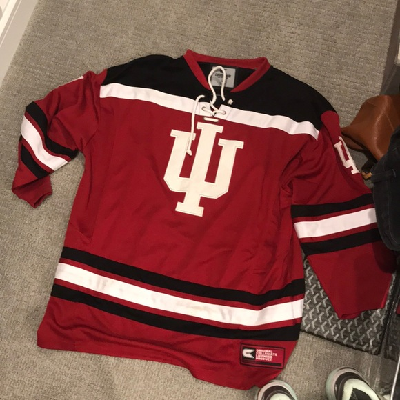 Colosseum Other - Indiana University Hoosiers Hockey Jersey 49b15850f